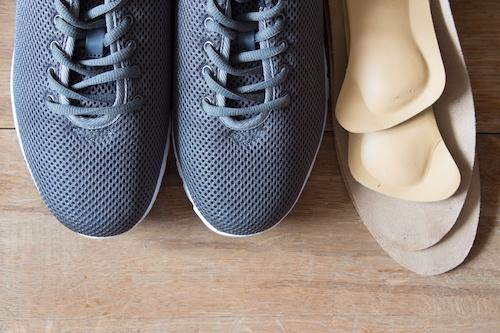 Schuhe und Einlagen für Diabetiker